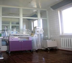 6-я больница, Минск, боксы для новорожденных